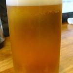 立呑屋さん - (14.10)グラスのクリアアサヒ