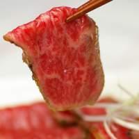 グルメストアフクシマ 福島肉店 - りんごで育った信州牛 たたき