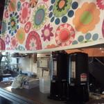 マカロニ食堂 - 1Fはオープンキッチン。