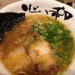 31524394 - 醤油ラーメン 細麺
