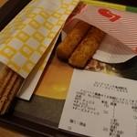 ロッテリア - 2014.10チュロス&チーズスティック(モバイルクーポンを使ってw)