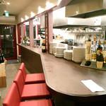 大扇食堂 - しっかりデザインされた空間。(2014.10月)
