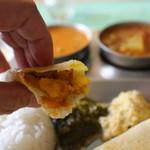 南インド家庭料理 カルナータカー - ドーサ