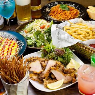 ☆各種ご宴会におすすめ!飲み放題付コース料理が2580円~☆