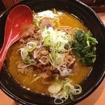 肉肉ラーメン - カレー肉肉ラーメン 780円 並盛