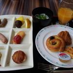 コンチネンタルレストランFirenze - 料理写真:モーニングビュッフェ