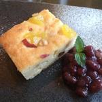 シーメンズクラブ - サツマイモとりんごのおからケーキ