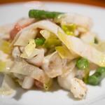 トラットリア・フランチェスカ - ゴルゴンゾーラとイチヂクのサラダ