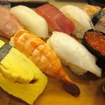 魚勘 - 料理写真:にぎり1.5人前