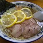 ラーメンのひまわり - 料理写真:塩レモンラーメン