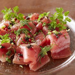 日替わり鮮魚のカルパッチョ