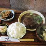 ステーキ茶屋 下町ッ子 - 料理写真:ハンバーグ定食