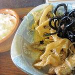 ステーキ茶屋 下町ッ子 - 小鉢