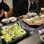 福林門 - コースの前菜(一部)