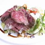 IL SUD - オージービーフの柔らか赤身肉 タリアータ