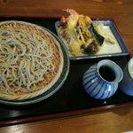 清九郎 - 料理写真:天ざる