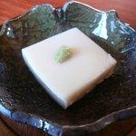 小屋商店 - 料理写真:名水ゴマ豆腐