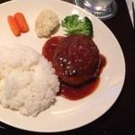 イゾルデ - ハンバーグランチ750円