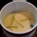 松竹膳處 - 御譜代膳の茶碗蒸し