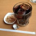 シャロウ - ドリンク写真:アイスコーヒー(ガムシロ抜き)