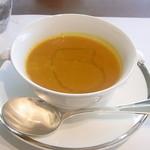 ザ・ミューゼス - カボチャのスープ 濃厚で滑らか なかなか美味しい☆♪