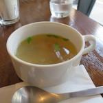 カフェ イワブチ - スープ