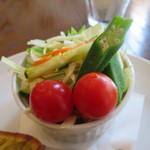 カフェ イワブチ - サラダ
