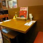 銀座ライオン  - テーブル席