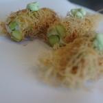 ランファン・キ・レーヴ - 枝豆と帆立のムース