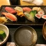 きよ寿司 - 仙台市太白区のきよ寿司で夕食。 にぎりの上を食した。