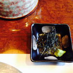 和匠よし乃 - 茶漬け薬味の海苔とわさび