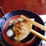 和匠よし乃 - カワハギ炙りアップ