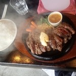 がっつりステーキ - 1ポンドステーキ 2,000円