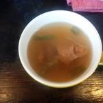 がっつりステーキ - スープ