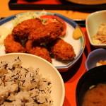 31581841 - カキフライ定食