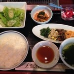 叙々苑 - S焼肉ランチ 1,600円(税込)