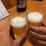 亀八 - 乾杯!