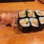 亀八 - 納豆巻き210円