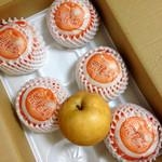梶原果樹園 - 料理写真:新高(≧∇≦)