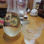 ふみぜん - 賀茂鶴 大吟醸(1200円+税)もいただきました。