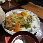 中華料理 西華 - 西華定食のおかず