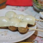 やきとり鳥清 竹 - チーズつくね