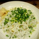升源 - シラスの塩焼きそば、イタリアンテイスト!