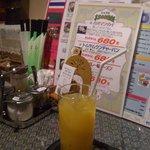 タイ料理サバイ・サバイ - クーポンでマンゴージュース
