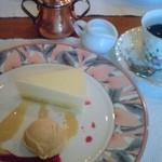 キャセロール - 洋梨のムースと紅茶シャーベット