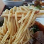 ファミリーレスト樹の実Ⅱ - 自家製のストレートな中角麺