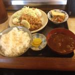 道風 - チキンカツ定食  600円