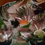 さかな市場 - ハーブ鯖活け作り