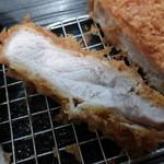 31621414 - カキフライと健美豚ロースかつ定食¥1590
