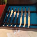 シェムラブルリス - 肉料理 ラギオールナイフ
